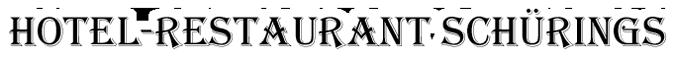 logo hotel restaurant schuerings
